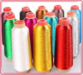 metallic threads