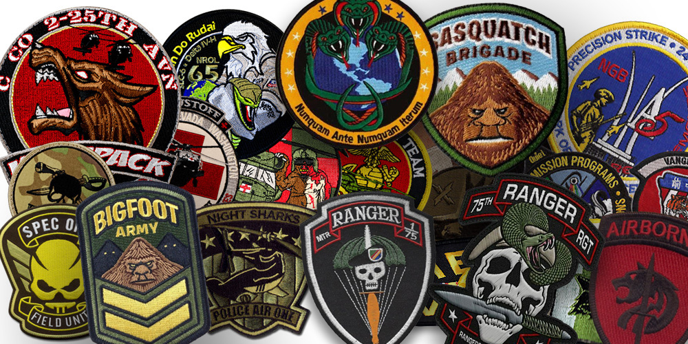 The Best Custom Patches Manufacturer Come From China!