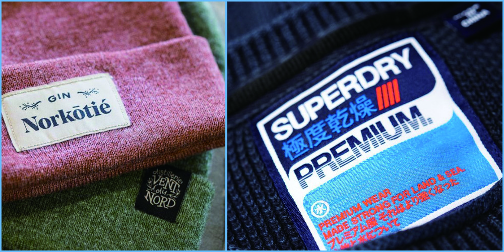 how are woven labels made?</strong>