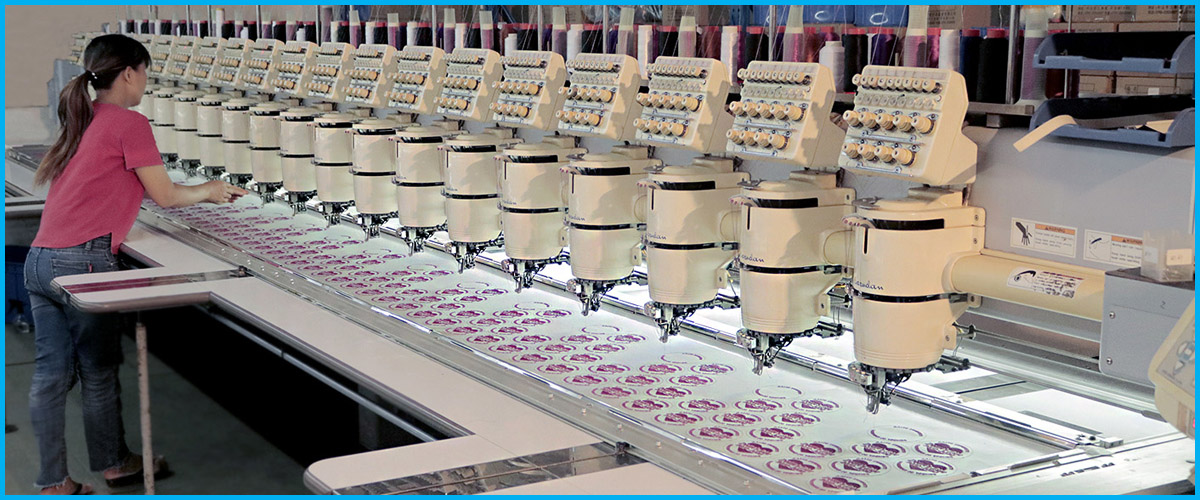 embroidery patch factory