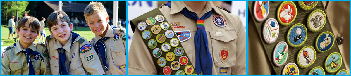 Boy Scout Patches Placement