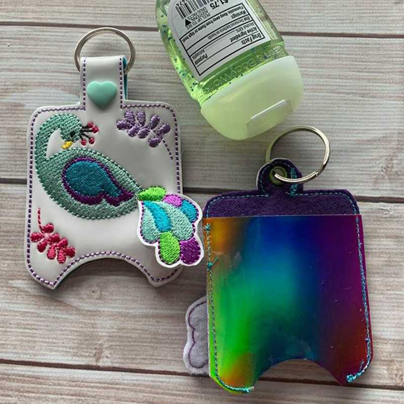 Embroidered Keychains